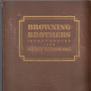 Browning Bros. Heavy Hardware Catalog 1932 New York City