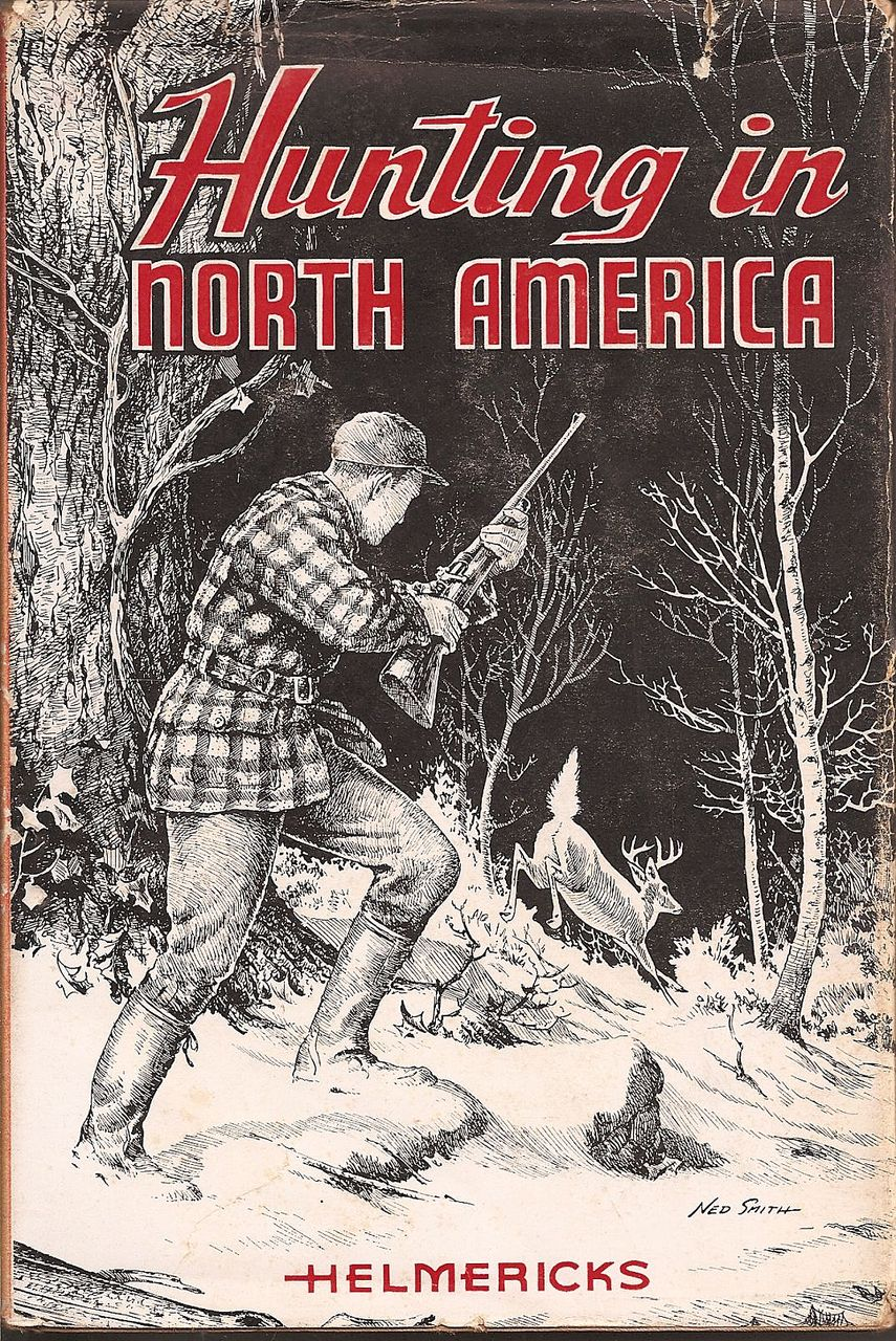 Stackpole  - Hunting in North America 1st Edition