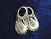 Vintage Sterling Moccasin Pin