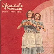 Monarch Electric Range Manual c. 1950's