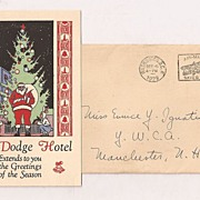 The Dodge Hotel Washington , D.C. Card 1930