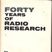 Forty Years of Radio Research Bell Telephone 1962