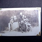 Vintage Car *Truck*Motorcycle Candid Photographs