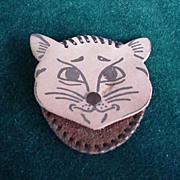 Dog & Cat Coin Purses  - Vintage Tandy Leather