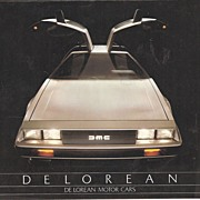 De Lorean Motor Car Flyer DMC 12 ~ 1981