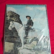 Hopalong Cassidy ~ William Boyd Vintage Puzzle 1950
