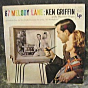 Ken Griffin at the Wurlitzer Organ Album