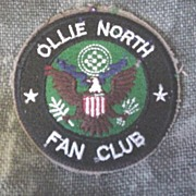 Ollie North Fan Club Patch