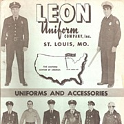 Police & Fire Uniform Catalog # 6567 ~ 1965