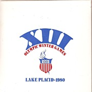 Lake Placid Winter Olympic Games  Book ~ 1980