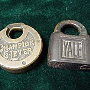 Champion 6 Lever Lock & Old Yale Lock