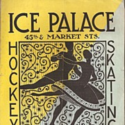 Philadelphia, Pa. * Ice Palace * Flyer c. 1940's