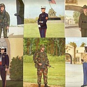 United States Marine Corps Uniform Postcards