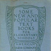 American Book Co. Text Book Catalog c. 1900 - 1910