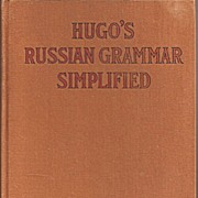 Hugo's Russian Grammar Simplified