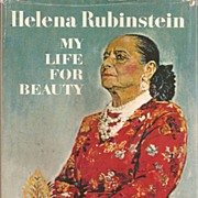 Helena Rubinstein * My Life for Beauty Book 1964 / 1966