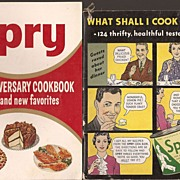 Spry Shorting Cooking Booklets 1945 - 1955