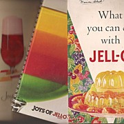 JELL-O Cookbook & Booklets ~ 1933 * 1962 * 1981
