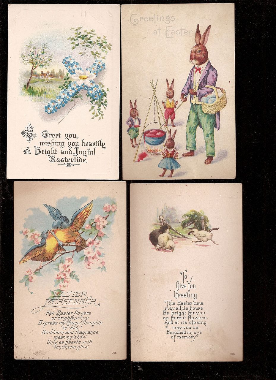 Easter Post Cards - 1924