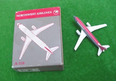 Northwest Airlines Scale Model Plane