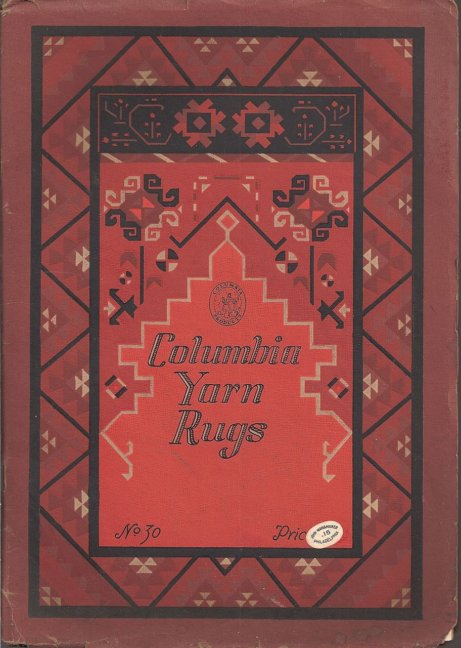 Columbia Yarn Rugs Booklet c.1925