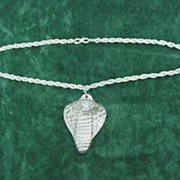 Cobra Pendant Necklace