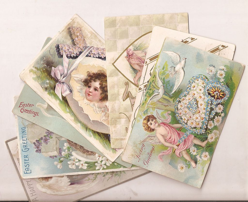 Postcards Angels & Cherubs C. 1908 * 1912