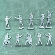 Vintage Lead Figures - Group of 10 Pieces