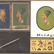 Cleopatra Egyptian Bridge Set - Mint in Box