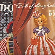 Dolls Crochet Outfits Booklets 1952
