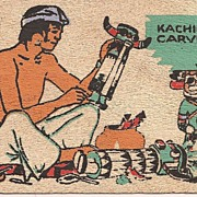 Hopi Kachina Maker Post Card  * 1945