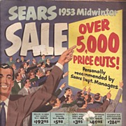 Sears Roebuck & Co. 1953 Sale Catalog