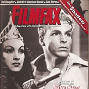 FilmFax Magazine * Buster Crabbe / Flash Gorden Cover