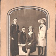 Vintage WW11 Era Sailors & Their Girl Friends