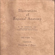 Illustrations of Regional Anatomy & Thorax 1934