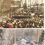 West Point - Iranian Hostage Welcome Jan. 25, 1981 Postcards