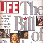 Life Magazine Bill of Rights Issue * 1991