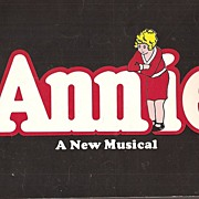 Annie * A New Musical Program # 1 ~ 1977