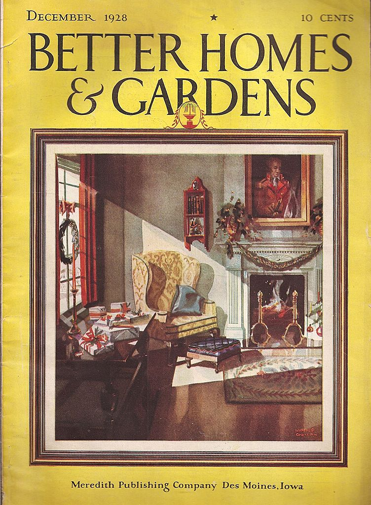 Better Homes and Garden Magazine * December 1928