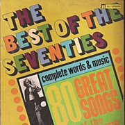 The Best of the Seventies Organ Song Book