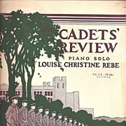 "West Point Cadets"" Review Sheet Music 1931"