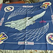 Air Force * Navy F-14 Tomcat Fighter Plane Scarf