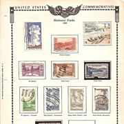 United States National Parks Stamps