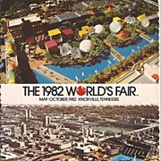 1982 World's Fair - Knoxville, TN  Post Cards