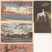Washington D.C. Linen Era Post Cards