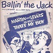 "Martin & Lewis ""Ballin' the Jack"" Sheet Music"
