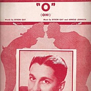 """O"" Oh! Sheet Music* 1953"