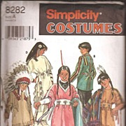 Simplicity Costume Pattern *Native American