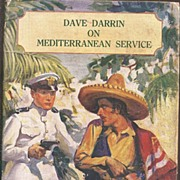 Dave Darrin on Mediterranean Service * 1919 Boys Action Adventure Novel