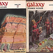 Galaxy Science Fiction Mags 1951 & 1953